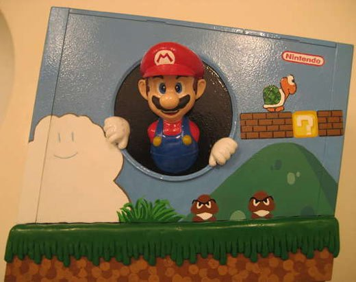 Itsa Wii, Super Mario Casemod