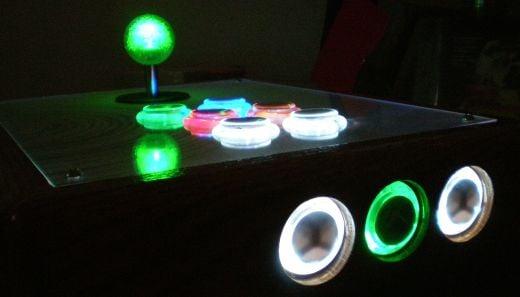 xbox 360 arcade control lit