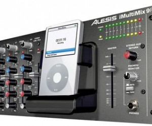 Alesis Imultimix Audio Mixer Adds iPod Dock