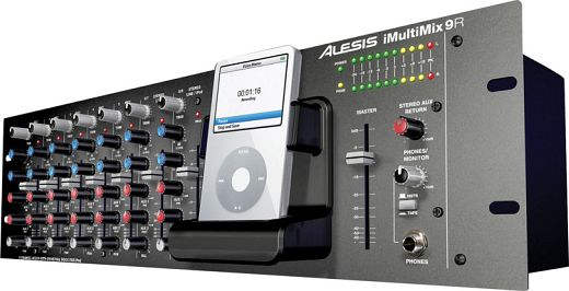 Alesis iMultiMix 9R Audio Mixer iPod Dock