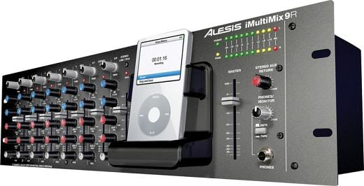 Alesis iMultiMix 9R Audio Mixer iPod Dock