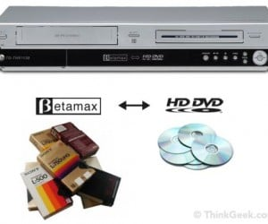Betamax to HD-DVD Converter is Already Obsolete