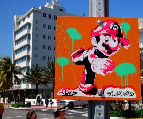 Mario Visits Miami, Then Switzerland