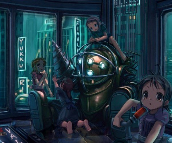 Bioshock Gets the Anime Treatment