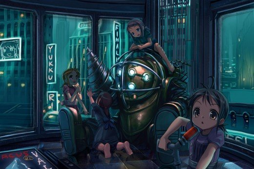 Bioshock Anime Fan Art