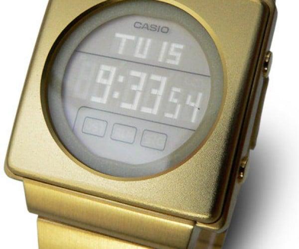 Casio Futurist LCD Watch is Retro Fabulous