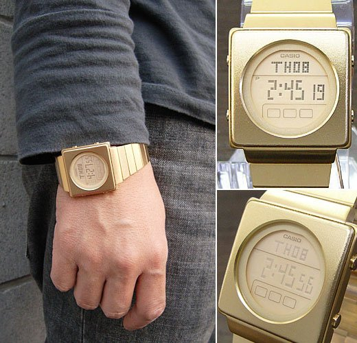 Casio Futurist LCD Watch