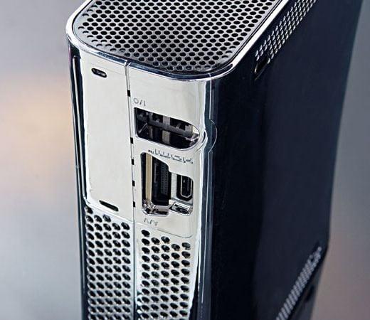 Chrome Xbox 360 Case XCM HDMI