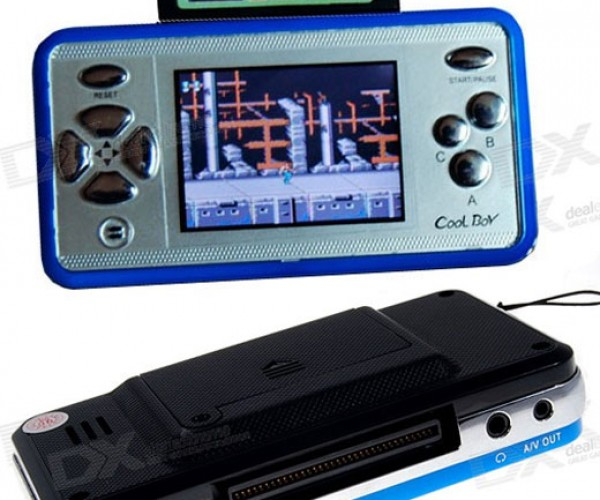 Cool Boy Game Console: Call the Copyright Cops