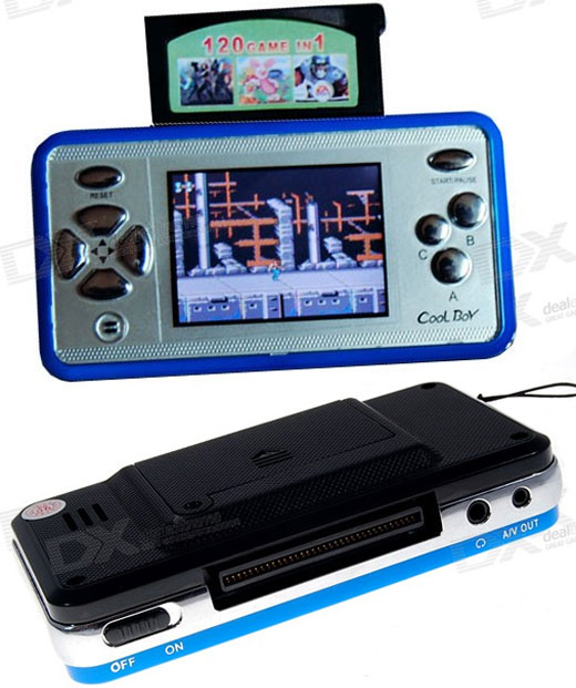 Cool Boy Portable Gaming Console