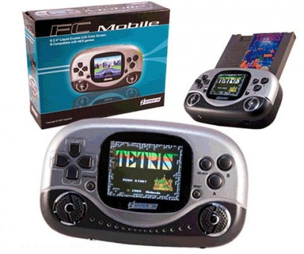 Fc Mobile Game Console Plays Original NES Carts
