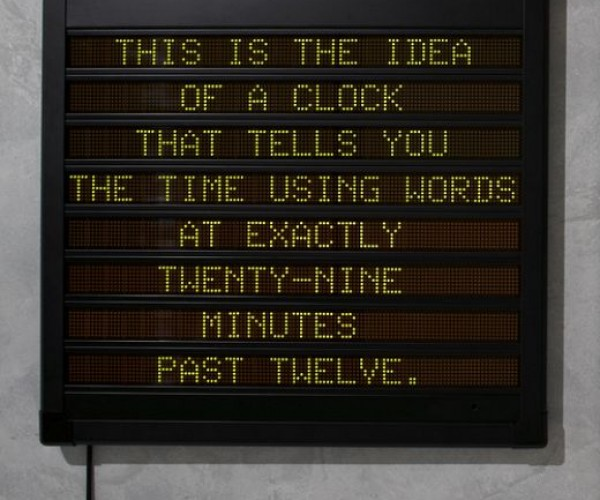 Word Clock is a Little Too Verbose for Me