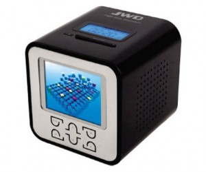 Mp3 Alarm Clock Gets Color Video Screen