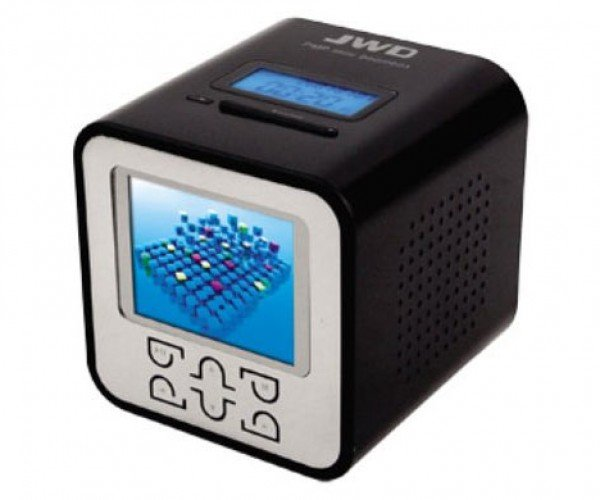 Mp3 Alarm Clock Gets Color Video Screen