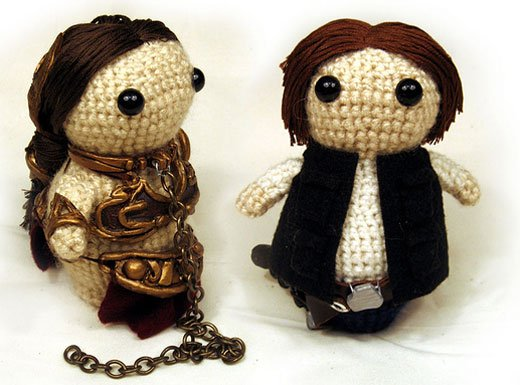 Princess Leia and Han Solo Stuffed