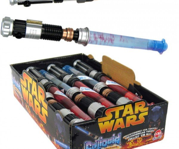 Candy Lightsabers Filled With Edible Goo