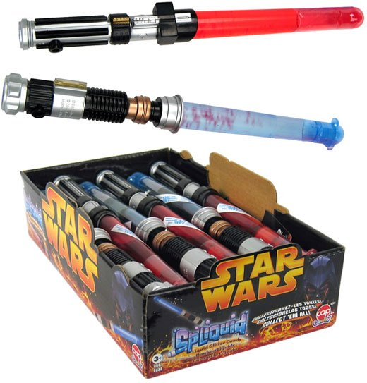 Star Wars Lightsaber Candy