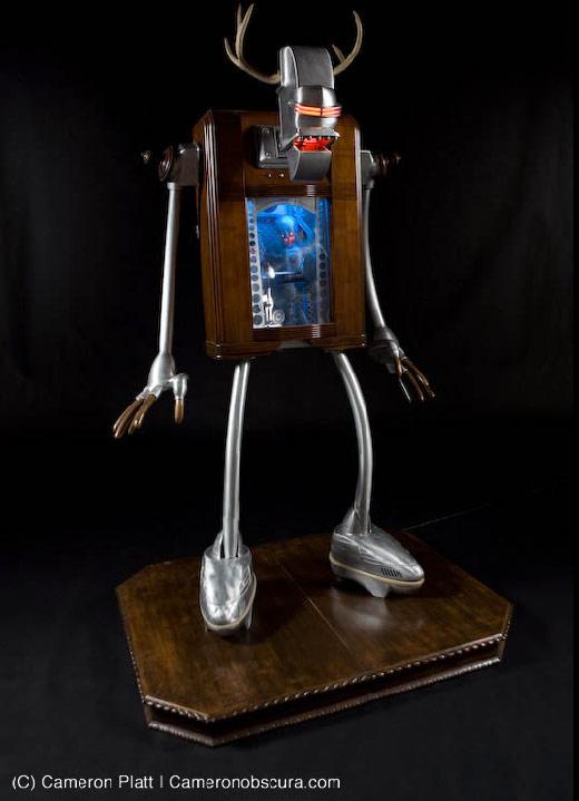 Little Big Man 2008 Robot by Nemo Gould