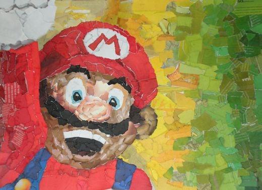 Mario Collage by Chris Lange