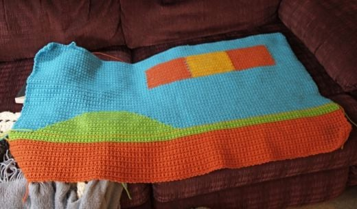 Super Mario Afghan Early Progress