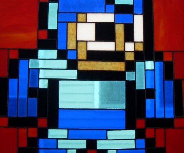 Megaman Stained Glass Project: Hallelujah.