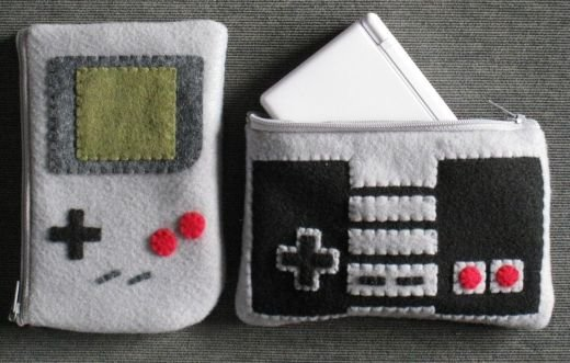 Nintendo DS Lite Felt Cases