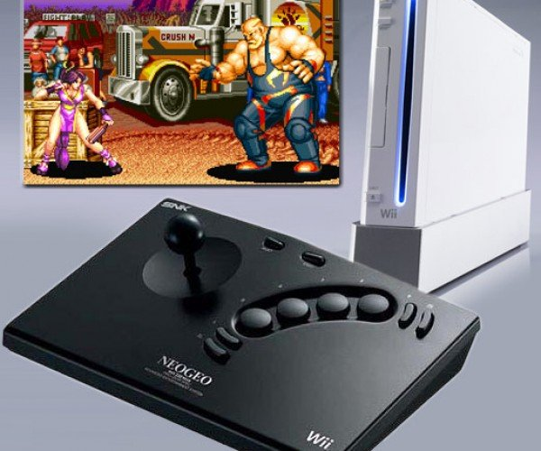 Neo Geo Arcade Controller Works on Wii