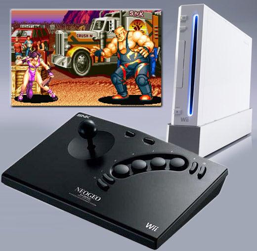 SNK Neo Geo Wii Controller