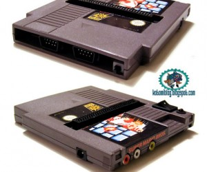 NES System Built Into Game Cartridge [Casemod]