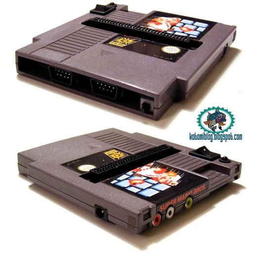 Fami-Cart NES System on a Cartridge