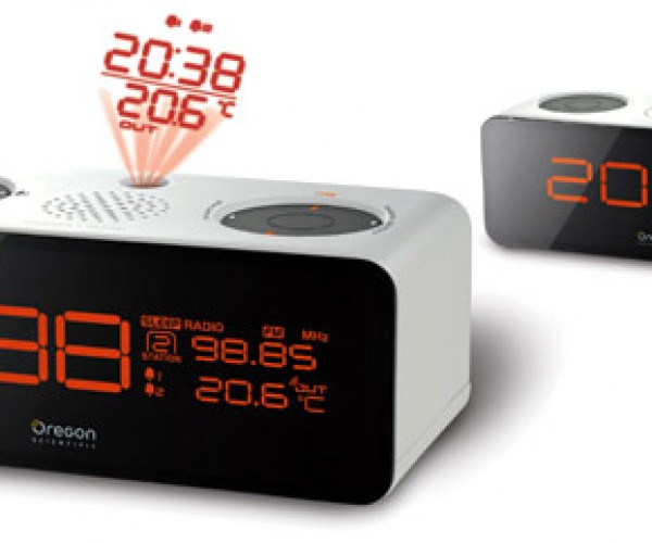 Oregon Scientific Projection Alarm Clocks Look Sharp