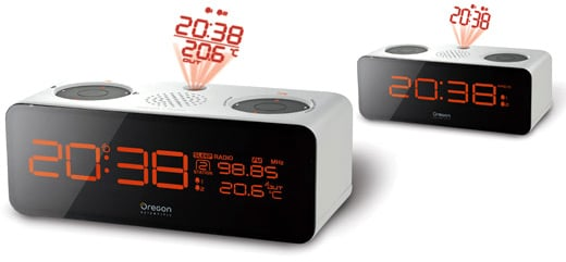 Oregon Scientific RRA320P and RRM320PA Projection Clocks