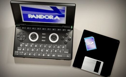 Pandora Linux Handheld Video Game Console