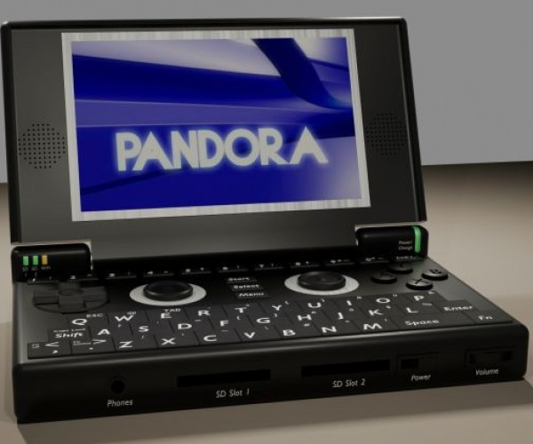 Pandora: Open Source Linux Gaming Handheld