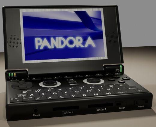 Pandora Open Source Linux Handheld