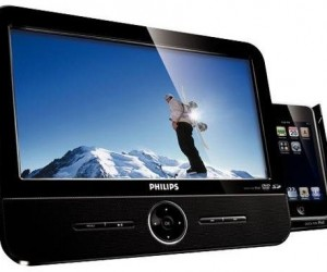 Philips DVD Player Offers iPod Dock, 9-Inch Screen