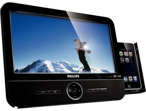 Philips DCP951 Portable DVD Player iPod Dock