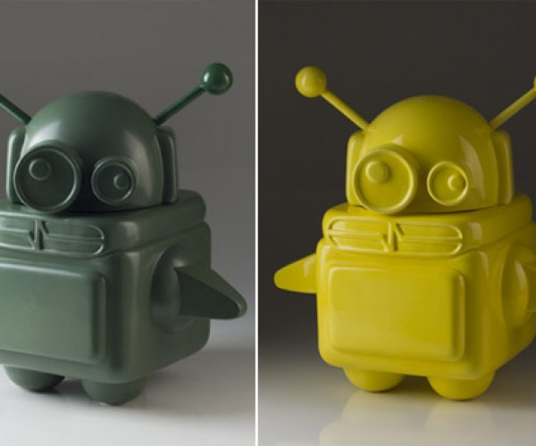 Ceramic Robots: Bite My Shiny Clay Ass