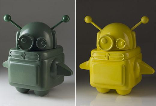 Pixel Pancho Ceramic Robots