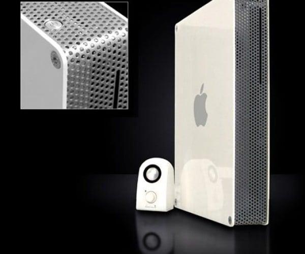 Powerbook Becomes Desktop Mac [Casemod]