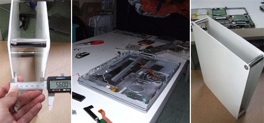 PowerBook to Desktop Casemod