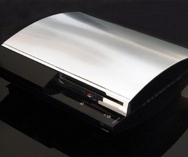 Give Your PS3 a Chrome Facelift