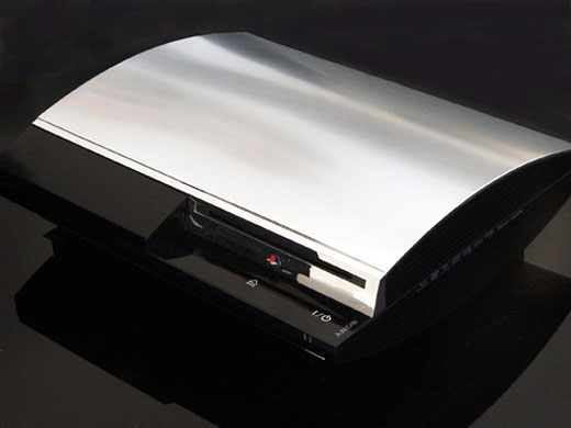 PS3 Chrome Face Plate from XCM