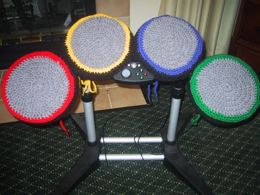 Rock Band Drum Cosies by FunkieFresh