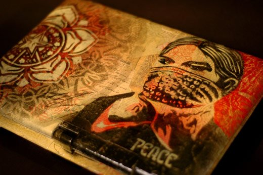 Shepard Fairey Obey Laptop