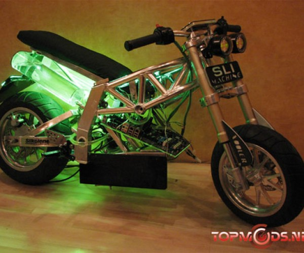 Motorcycle Casemod Hits Top Speed