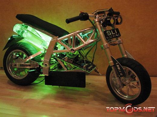 Motorcycle Casemod SLI Machine II