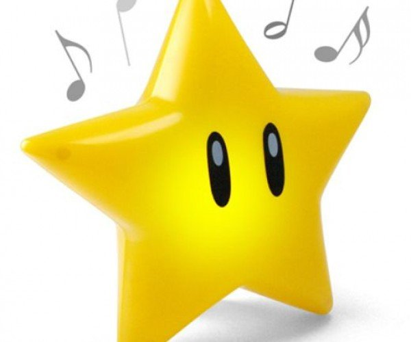 Super Mario Musical Glow Star Provides Invincibility