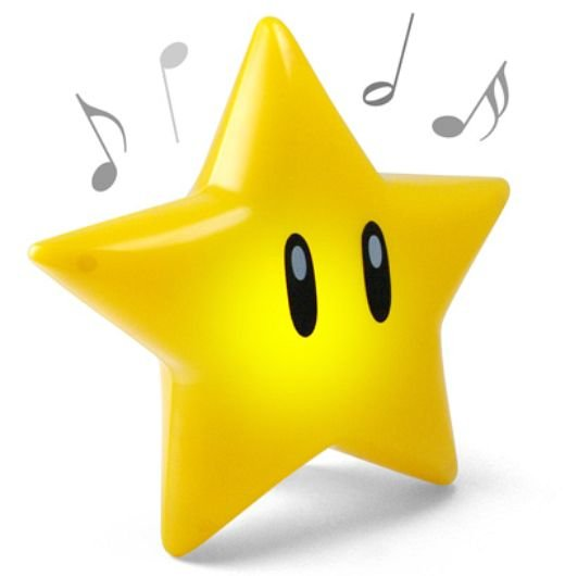 Super Mario Singing Glow Star