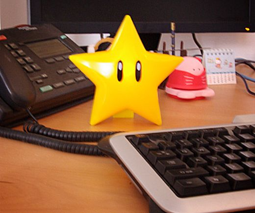 Super Mario Musical Glow Star